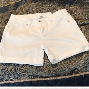 Jcp white denim NWT shorts